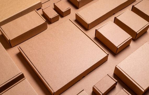 Картонные коробки — виды, особенности