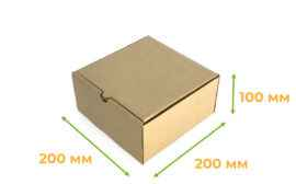Картонная коробка #77