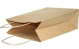 Крафт пакет #002