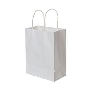 Белый крафт пакет #008