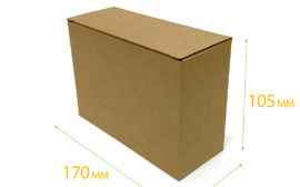 Картонная коробка #035