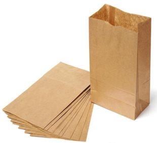 Крафт пакет #011